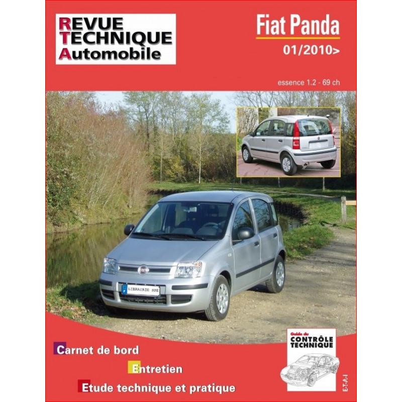 REVUE TECHNIQUE FIAT PANDA ESSENCE DEPUIS 2010 - RTA B747 Librairie Automobile SPE 9782726874752