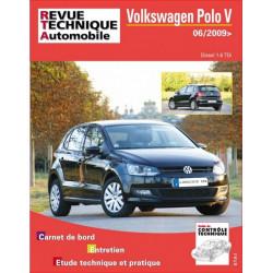 REVUE TECHNIQUE VOLKSWAGEN POLO V DIESEL DEPUIS 2009 - RTA B746 Librairie Automobile SPE 9782726874653