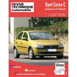 REVUE TECHNIQUE OPEL CORSA C ESSENCE ET DIESEL DEPUIS 2000 - RTA 741 Librairie Automobile SPE 9782726874110