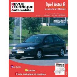 REVUE TECHNIQUE OPEL ASTRA G ESSENCE et DIESEL DEPUIS 1998- RTA 740 Librairie Automobile SPE 9782726874011