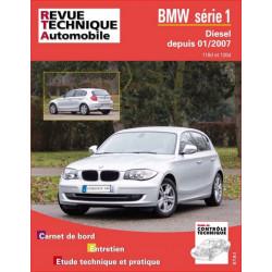 REVUE TECHNIQUE BMW SERIE 1 DIESEL DEPUIS 2007 - RTA B739 Librairie Automobile SPE 9782726873953