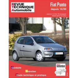 REVUE TECHNIQUE FIAT PUNTO ESSENCE et DIESEL DEPUIS 1999 - RTA 739 Librairie Automobile SPE 9782726873915