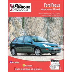 REVUE TECHNIQUE FORD FOCUS ESSENCE ET DIESEL - RTA 738 Librairie Automobile SPE 9782726873816