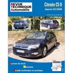 RTA B737 Citroen C5 II diesel 03/2008 Librairie Automobile SPE 9782726873755