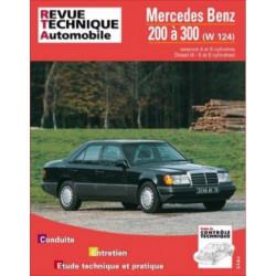 REVUE TECHNIQUE MERCEDES BENZ 200 à 300 ESSENCE et DIESEL - RTA 727 Librairie Automobile SPE 9782726872710