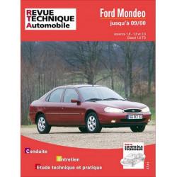 REVUE TECHNIQUE FORD MONDEO ESSENCE et DIESEL JUSQU'A 2000 - RTA 723 Librairie Automobile SPE 9782726872314