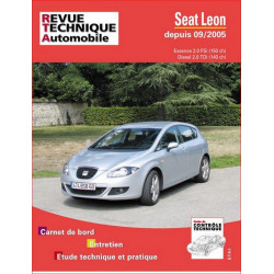REVUE TECHNIQUE SEAT LEON ESSENCE et DIESEL DEPUIS 2005 - RTA B722 Librairie Automobile SPE 9782726872260