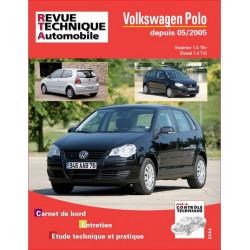 REVUE TECHNIQUE VW POLO ESSENCE et DIESEL DEPUIS 2005 - RTA B721 Librairie Automobile SPE 9782726872154