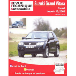 REVUE TECHNIQUE SUZUKI GRAND VITARA DIESEL DEPUIS 2005 - RTA B717 Librairie Automobile SPE 9782726871751