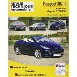 REVUE TECHNIQUE PEUGEOT 307 II ESSENCE DEPUIS 2005 - RTA B714 Librairie Automobile SPE 9782726871461