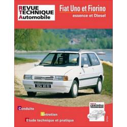 REVUE TECHNIQUE FIAT UNO et FIORINO ESSENCE et DIESEL - RTA 714 Librairie Automobile SPE 9782726871416