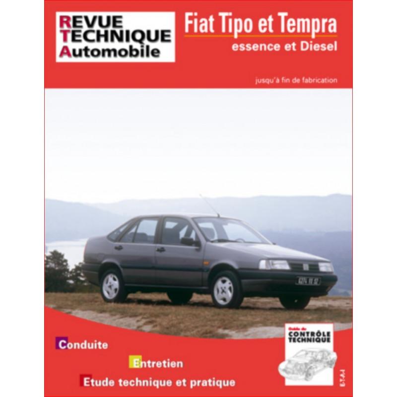 REVUE TECHNIQUE FIAT TIPO ET TEMPRA ESSENCE et DIESEL - RTA 713 Librairie Automobile SPE 9782726871324