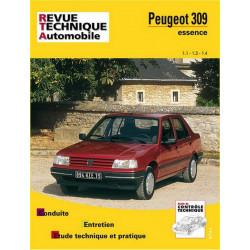 REVUE TECHNIQUE PEUGEOT 309 ESSENCE de 1986 à 1993 - RTA 706 Librairie Automobile SPE 9782726870617