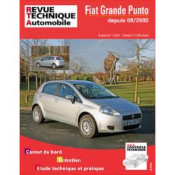 REVUE TECHNIQUE FIAT GRANDE PUNTO ESSENCE et DIESEL DEPUIS 2005 - RTA B704 Librairie Automobile SPE 9782726870457