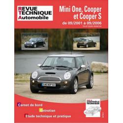 REVUE TECHNIQUE MINI ONE et COOPER S ESSENCE de 2001 à 2006 - RTA B703 Librairie Automobile SPE 9782726870365