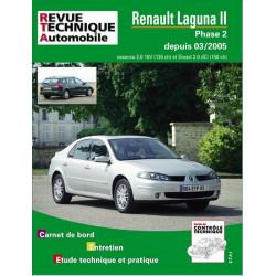 REVUE TECHNIQUE RENAULT LAGUNA II PHASE 2 ESSENCE et DIESEL DEPUIS 2005 - RTA B700 Librairie Automobile SPE 9782726870051