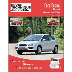 REVUE TECHNIQUE FORD FOCUS DIESEL de 2004 à 2007 - RTA 698 Librairie Automobile SPE 9782726869819