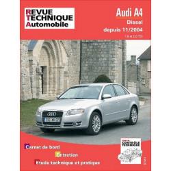 REVUE TECHNIQUE AUDI A4 DIESEL DEPUIS 2004 - RTA 695 Librairie Automobile SPE 9782726869512