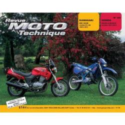 REVUE MOTO TECHNIQUE KAWASAKI KDX 125 de 1990 à 2001 - RMT 98 Librairie Automobile SPE 9782726890974