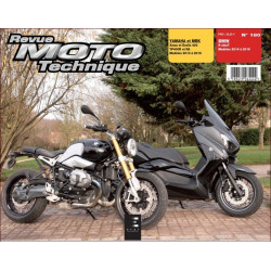REVUE MOTO TECHNIQUE BMW R-NINE T de 2014 à 2016 - RMT 180 Librairie Automobile SPE 9782726892817-2