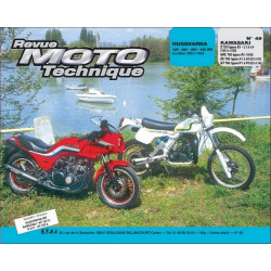 REVUE MOTO TECHNIQUE HUSQVARNA WR de 1980 à 1983 - RMT 49