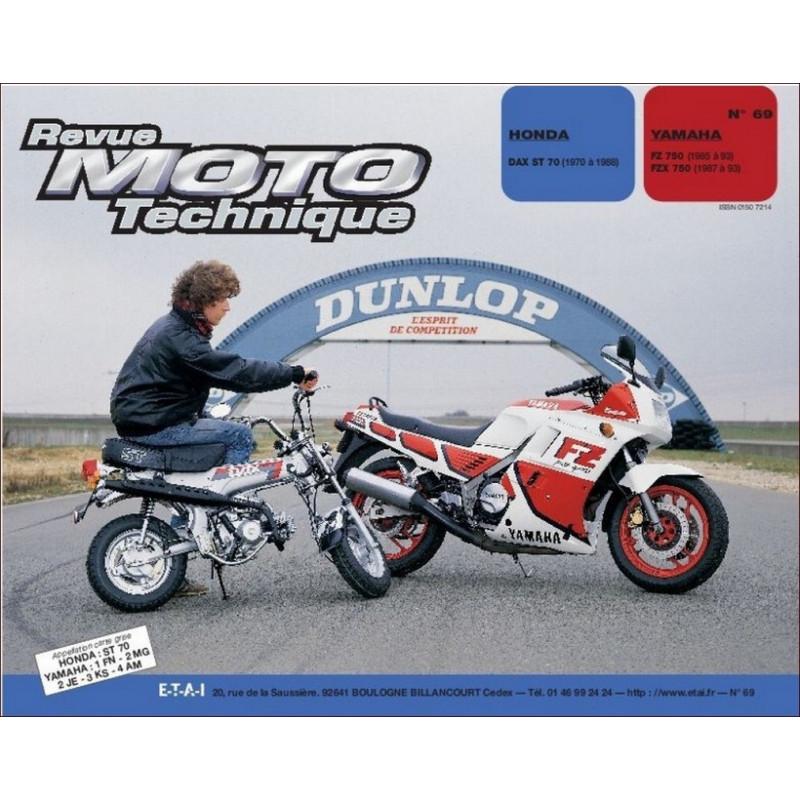 REVUE MOTO TECHNIQUE HONDA DAX ST 70 dE 1970 à 1988 - RMT 69 Librairie Automobile SPE 9782726890639