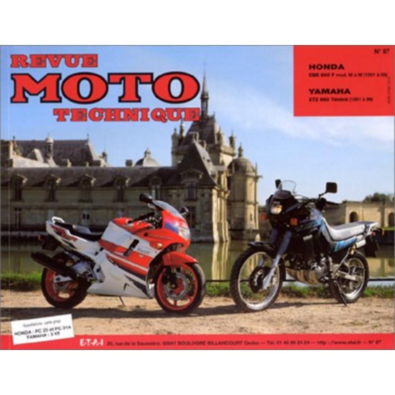 REVUE MOTO TECHNIQUE YAMAHA XTZ 660 de 1991 à 1998 - RMT 87 Librairie Automobile SPE 9782726890813