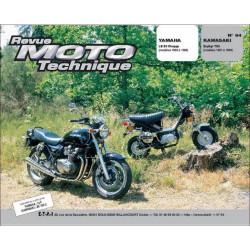 REVUE MOTO TECHNIQUE KAWASAKI ZEPHIR 750 de 1991 à 1999 - RMT 94 Librairie Automobile SPE 9782726891384