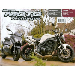 REVUE MOTO TECHNIQUE TRIUMPH SPEED TRIPLE 1000 de 2006 à 2010 - RMT 161 Librairie Automobile SPE 9782726892626