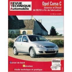 REVUE TECHNIQUE OPEL CORSA C ESSENCE et DIESEL depuis 2003 - RTA 692 Librairie Automobile SPE 9782726869215