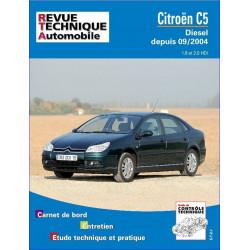 REVUE TECHNIQUE CITROEN C5 DIESEL DEPUIS 2004 - RTA 690 Librairie Automobile SPE 9782726869017