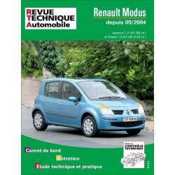 REVUE TECHNIQUE RENAULT MODUS ESSENCE ET DIESEL - RTA 689 Librairie Automobile SPE 9782726868911