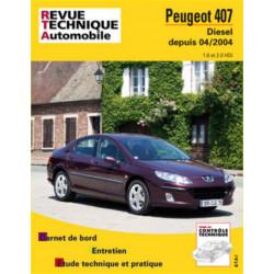 REVUE TECHNIQUE PEUGEOT 407 DIESEL DEPUIS 2004 - RTA 686 Librairie Automobile SPE 9782726868614