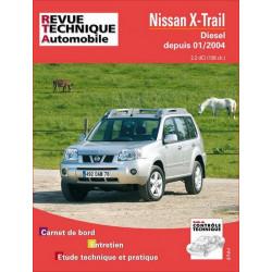 REVUE TECHNIQUE NISSAN X-TRAIL DIESEL DEPUIS 2004 - RTA 685 Librairie Automobile SPE 9782726868515