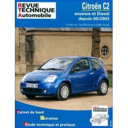 REVUE TECHNIQUE CITROEN C2 ESSENCE et DIESEL DEPUIS 2003 - RTA 684 Librairie Automobile SPE 9782726868416