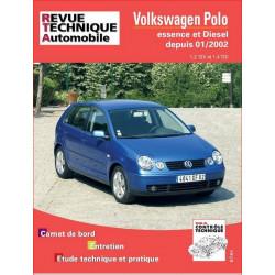 REVUE TECHNIQUE VOLKSWAGEN POLO ESSENCE et DIESEL DEPUIS 2002 - RTA 683 Librairie Automobile SPE 9782726868317
