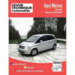 REVUE TECHNIQUE OPEL MERIVA DIESEL DEPUIS 2003 - RTA 681 Librairie Automobile SPE 9782726868119