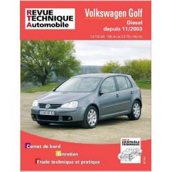 REVUE TECHNIQUE VOLKSWAGEN GOLF V DIESEL DEPUIS 2003 - RTA 680 Librairie Automobile SPE 9782726868010
