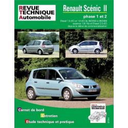 REVUE TECHNIQUE RENAULT SCENIC II ESSENCE et DIESEL - RTA 679 Librairie Automobile SPE 9782726867914