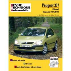 REVUE TECHNIQUE PEUGEOT 307 DIESEL DEPUIS 2001 - RTA 678 Librairie Automobile SPE 9782726867815