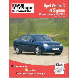 REVUE TECHNIQUE OPEL VECTRA C et SIGNUM DIESEL DEPUIS 2002 - RTA 673 Librairie Automobile SPE 9782726867310