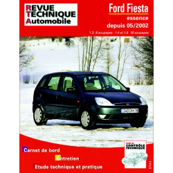 REVUE TECHNIQUE FORD FIESTA ESSENCE DEPUIS 2002 - RTA 671 Librairie Automobile SPE 9782726867112