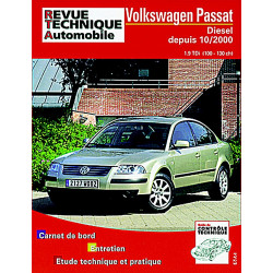 REVUE TECHNIQUE VOLKSWAGEN PASSAT DIESEL DEPUIS 2000 - RTA 665 Librairie Automobile SPE 9782726866511