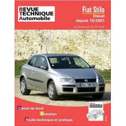REVUE TECHNIQUE FIAT STILO DIESEL DEPUIS 2001 - RTA 661 Librairie Automobile SPE 9782726866115