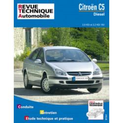 REVUE TECHNIQUE CITROEN C5 DIESEL DEPUIS 2001 - RTA 654 Librairie Automobile SPE 9782726865415