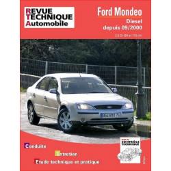 REVUE TECHNIQUE FORD MONDEO DIESEL DEPUIS 2000 - RTA 648 Librairie Automobile SPE 9782726864814