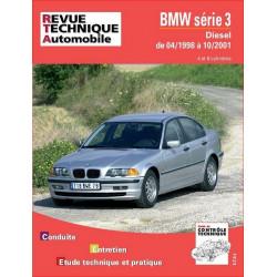 REVUE TECHNIQUE BMW SERIE 3 DIESEL de 1998 à 2001 - RTA 645 Librairie Automobile SPE 9782726864517