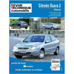 REVUE TECHNIQUE CITROEN XSARA 2 DIESEL de 1998 à 2003 - RTA 644 Librairie Automobile SPE 9782726864418