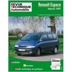 REVUE TECHNIQUE RENAULT ESPACE et GRAND ESPACE de 1996 à 2002 - RTA 603 Librairie Automobile SPE 9782726860311