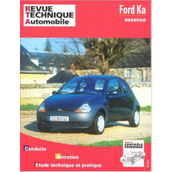 REVUE TECHNIQUE FORD KA ESSENCE - RTA 604 Librairie Automobile SPE 9782726860410